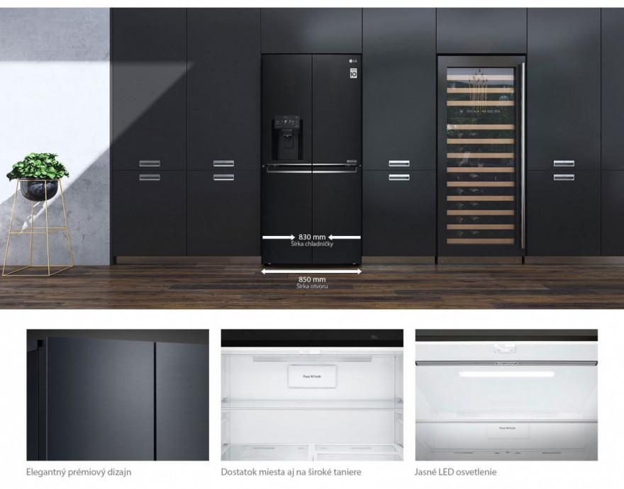 Kompaktný dizajn vhodný do každej kuchyne