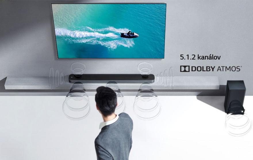 K Soundbar môžete pripojiť zariadenie Bluetooth a vychutnávať si stereo zvuk Pripojenie Bluetooth funguje len v blízkosti prijímača.