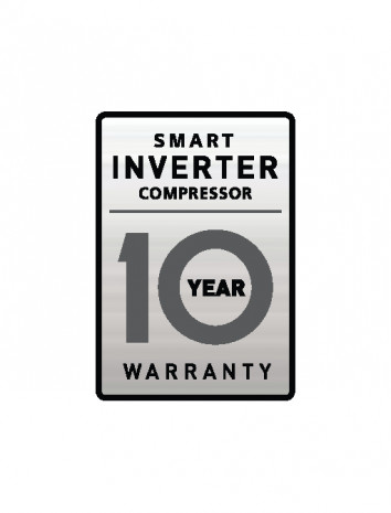 Desaťročná záruka na LG Smart invertorový kompresor