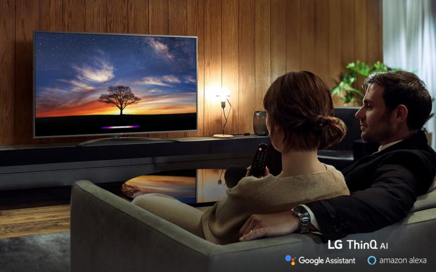 Nechajte sa neustále udivovať televízorom LG AI TV